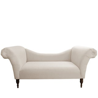 Skyline Furniture Chaise Lounge in Linen Talc