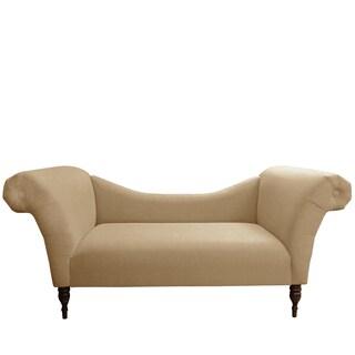 Skyline Furniture Chaise Lounge in Linen Sandstone