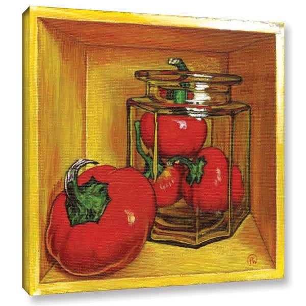 ArtWall Paige Wallis 'Cherry ' Gallery-wrapped Canvas 22110852