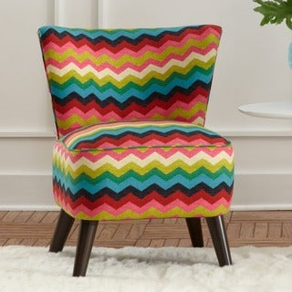 Made to Order Skyline Furniture Upholstered Chair in Panama Wave Desert Flower
