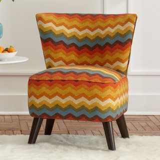 Made to Order Skyline Furniture Upholstered Chair in Panama Wave Adobe