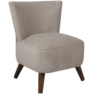 Made to Order Skyline Furniture Upholstered Chair in Velvet Light Grey