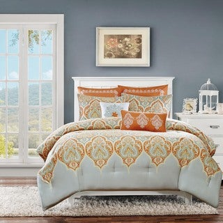 Madison Park Leah Cotton 7-piece Comforter Set