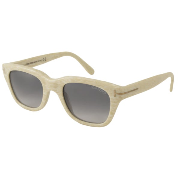 Tom Ford Women's TF237 Snowdon Rectangular Sunglasses