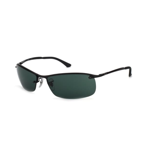Ray-Ban RB3183 63mm Green Classic Lenses Black Frame Sunglasses