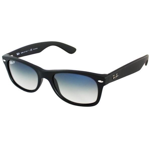 Ray-Ban RB2132 52mm Polarized Blue/Grey Gradient Lenses Black Frame Sunglasses