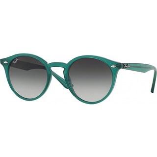 Ray-Ban RB2180 49mm Green Gradient Lenses Green Frame Sunglasses