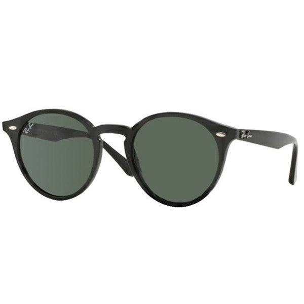 Ray-Ban RB2180 49mm Green Classic Lenses Black Frame Sunglasses