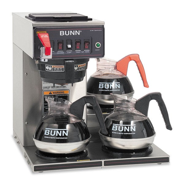 BUNN Commercially Rated Stainless Steel Automatic Brewer 16164105
