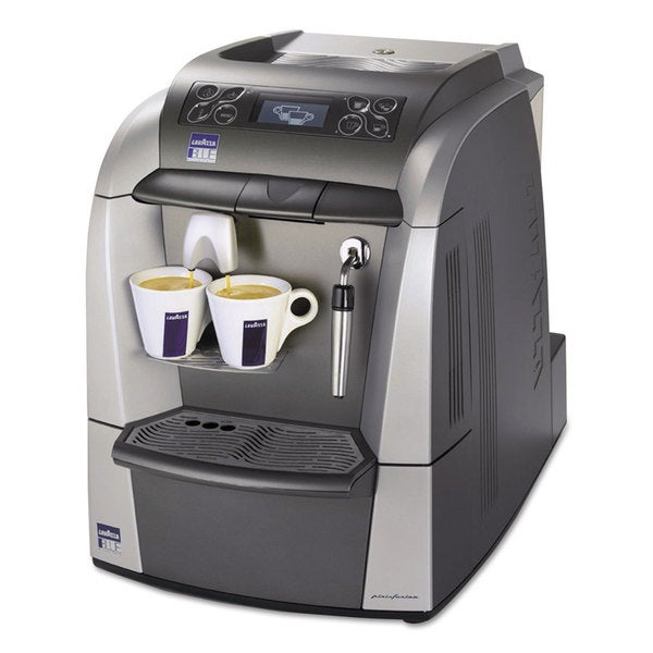 Lavazza BLUE 2312 Silver/Gray Espresso/Cappuccino Machine