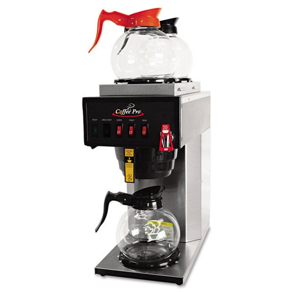 Coffee Pro High-Capacity Stainless Steel Institutional Plumbed-In Brewer