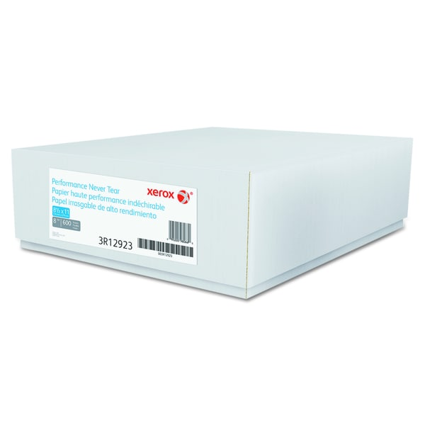 Xerox Revolution Performance Never Tear 8 mil White Paper (Pack of 600 Sheets)