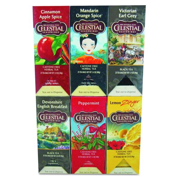 Celestial Seasonings Tea (Pack of 150 Tea Bags)