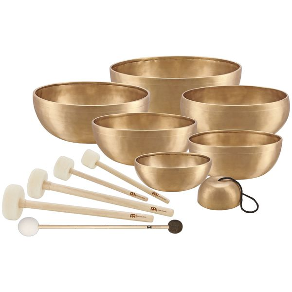 Meinl Sonic Energy SB-SET-CHA Singing Bowl Chakra Set 7 Pieces
