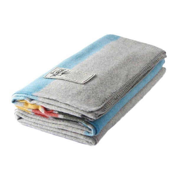 Woolrich Allegheny Heather Grey Throw
