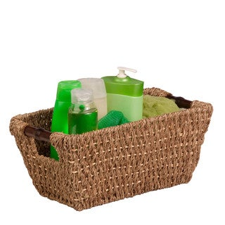 Seagrass Basket w/ handles - Sm