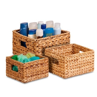 3pk Nested Natural Baskets
