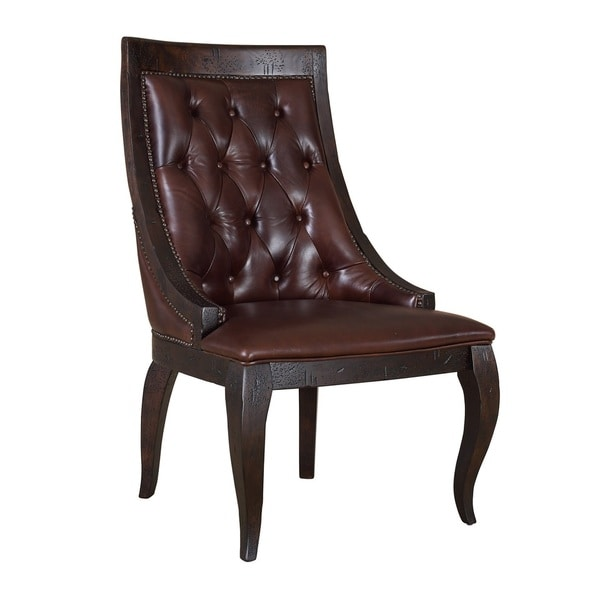 Claremont Leather Side Chair
