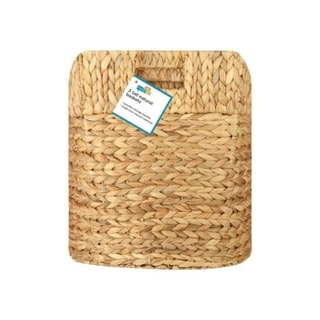 3pc Nesting Natural Baskets, L