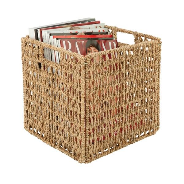 Natural woven basket, KD