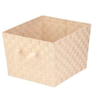 Woven Task-it Basket - Lg Crm