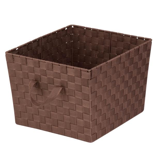 Woven Task-It Basket - Lg Brn