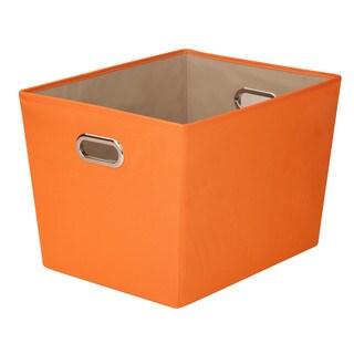 Lg Storage Bin w/ handle - Org