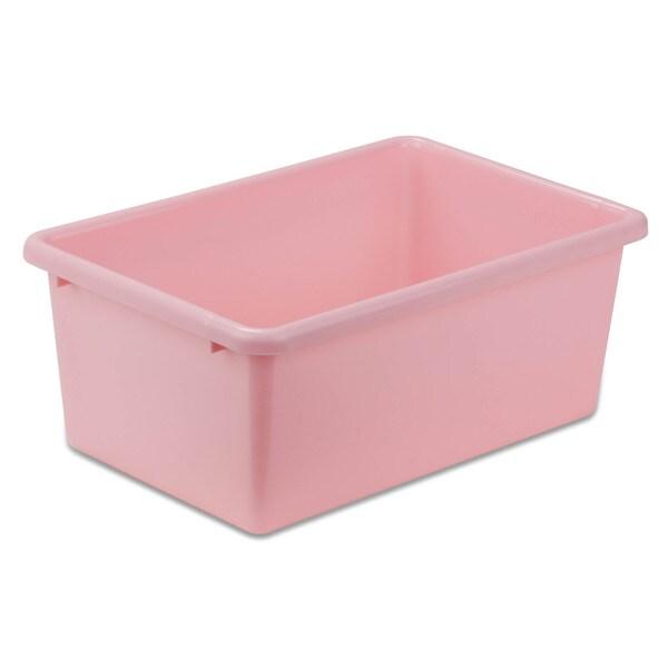 Plastic Bin-Small Dark Pink