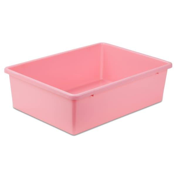 Plastic Bin-Large Dark Pink