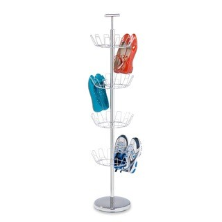 4 Tier Chrome Shoe Tree