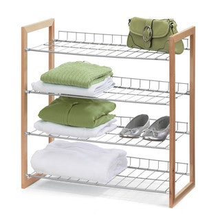 Wall Mount Cubbie Storage Shelf Coat Rack 11144509