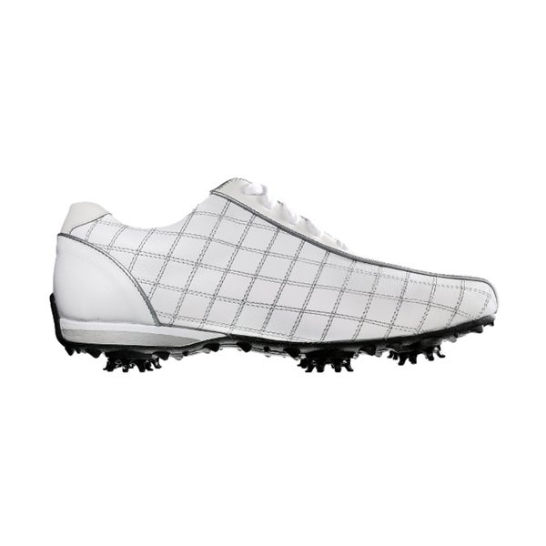 FootJoy 97199 White/ Black Women's LoPro Golf Shoes