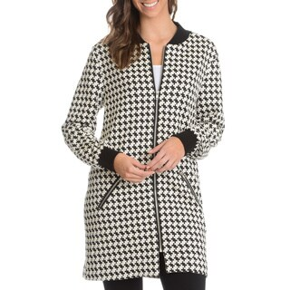 Chelsea and Theodore Women's Patterned Fashion Coat