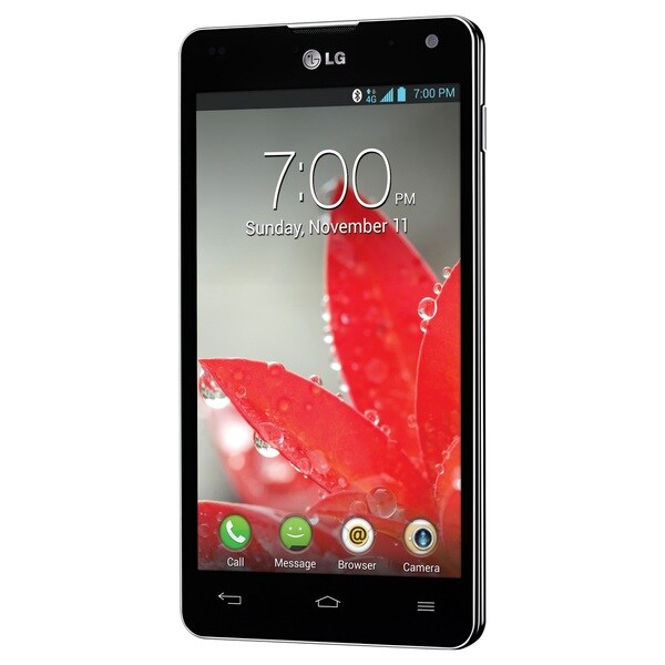 LG Optimus G E970 16GB Unlocked GSM 4G LTE Quad-Core Android Cell Phone - Black (Refurbished)