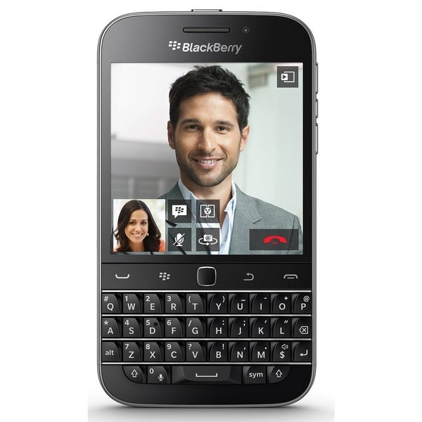 Blackberry Classic SQC100-4 16GB Unlocked GSM 4G LTE Cell Phone - Black