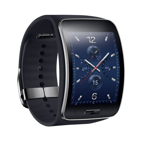 Samsung Galaxy Gear S R750 Curved Super AMOLED Display Smart Watch (Refurbished)