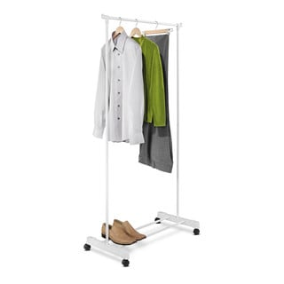 White Portable Garment Rack