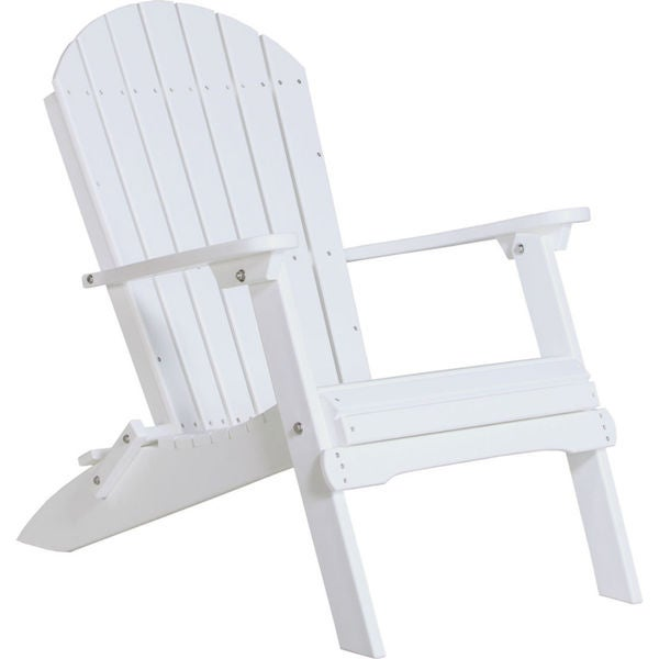 Deluxe Poly Folding Adirondack Chair