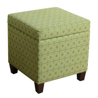 HomePop Fashion Storage Cube Ottoman
