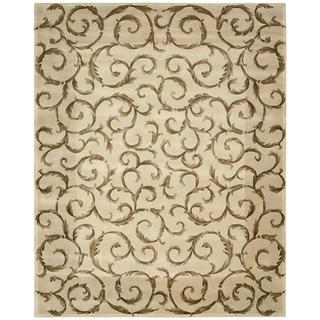 Nourison Versailles Palace Ivory Rug (8' x 11')