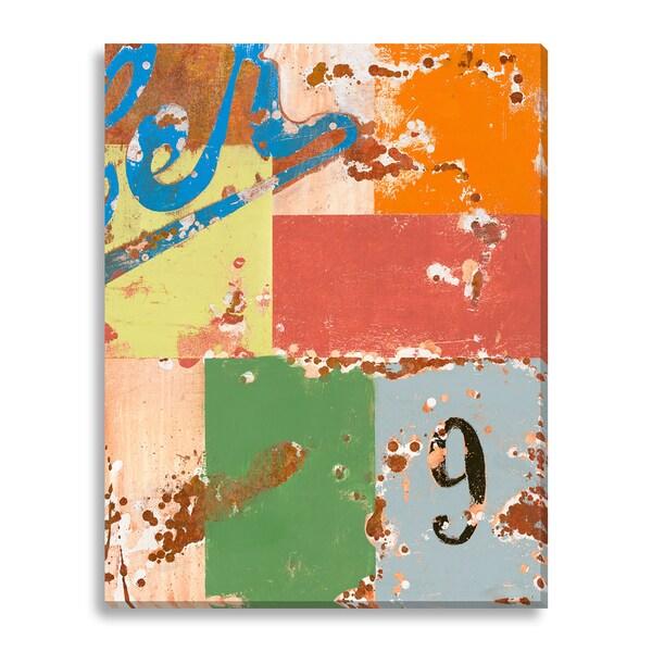 Bailey 'Neuf' Canvas Gallery Wrap