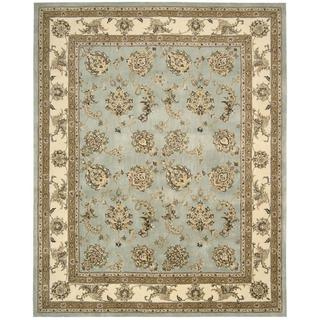 Nourison Silk Touch Blue Rug (7'9 x 9'9)