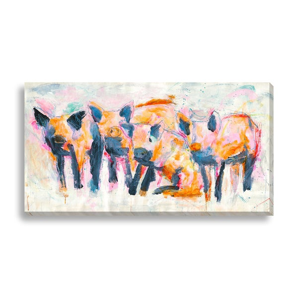 St. John 'Four Friends' Canvas Gallery Wrap