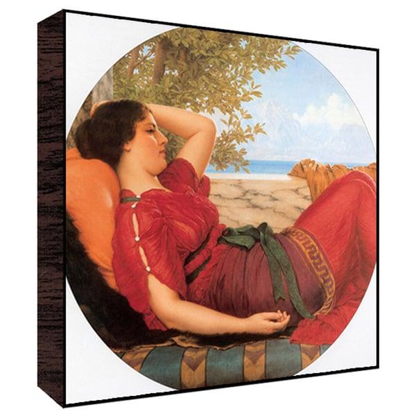 Lady I Wood Art