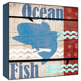 Ocean Fish Wood Art