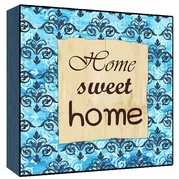Home Sweet home Wood Art 16165392