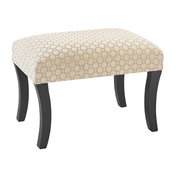 Sterling Geometric Patterned Stool