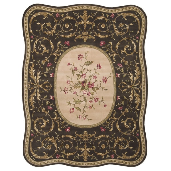 Nourison Serenata Brown Rug (8' x 11')