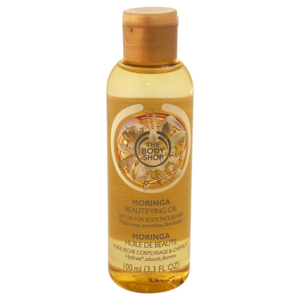The Body Shop Moringa Beautifying Oil For Body, Face & Hair