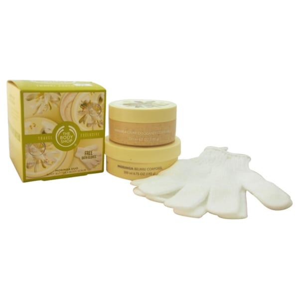 The Body Shop Moringa Travel Exclusive 3-piece Kit